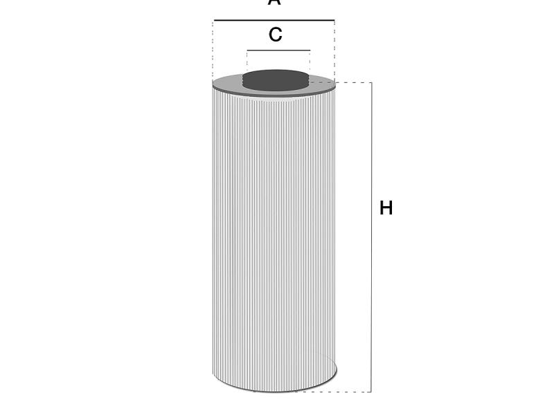 HF28836 Hydrauliek filter