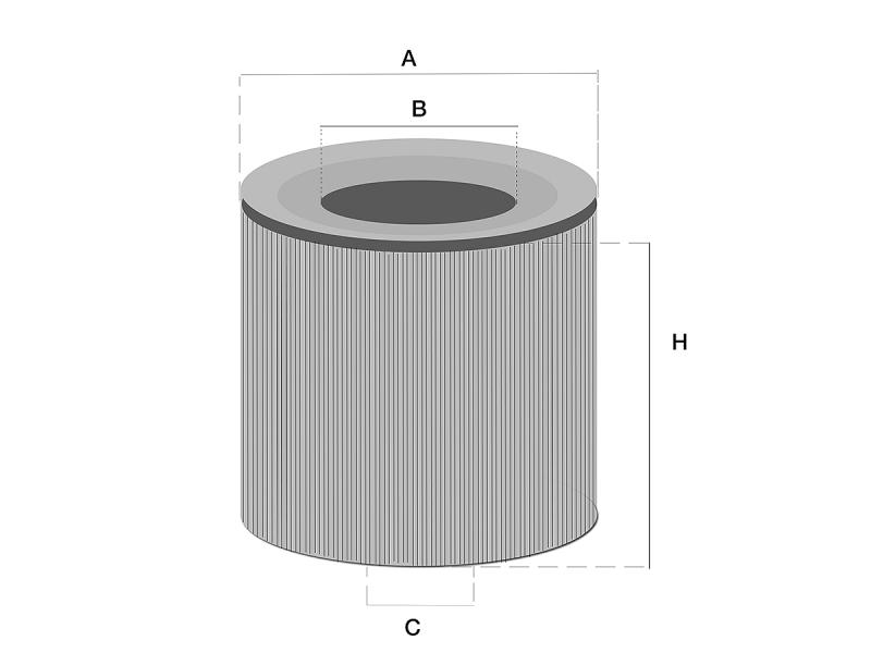 HF35330 Hydrauliek filter