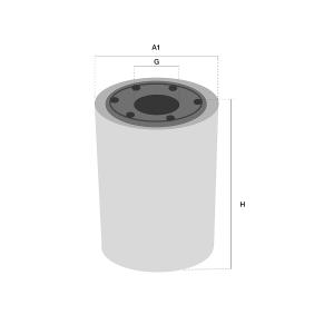 FF42000 brandstof filter