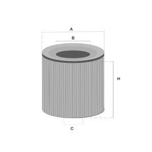 LF507 Olie filter