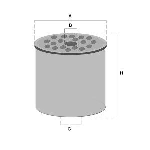 FF167A brandstof filter