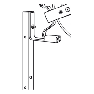 Accessoires voor haspelhoekpaal