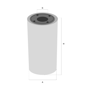 FF5624 brandstof filter