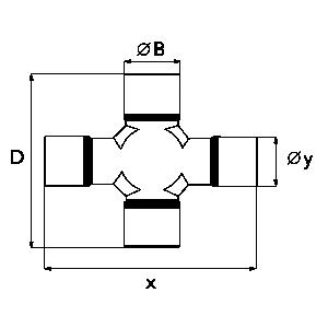 Kruisstuk - Groothoek 80°